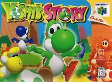 Nintendo 64 N64 Yoshi's Story Video Game Cartridge *Cosmetic Wear*