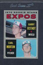 1970 Topps #109 Expos Rookie Stars Jestadt/Morton EX/MT *6474
