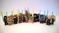 LEGO STAR WARS - JEDI KNIGHTS MINIFIGURAS / MINIFIGURES  * NUEVO / NEW *