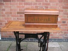 More details for antique rare j deal treadle sewing machine ( based on wheeler & wilson no.9 )