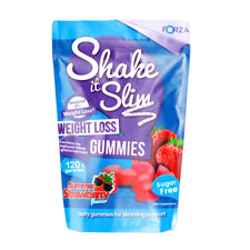 BBE 09/2020 Chewable Shake It Slim Weight Loss Gummies!