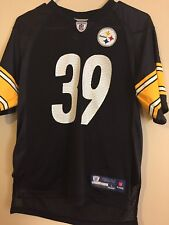 Pittsburgh Steelers Reebok Jersey #39 Willie Parker Size Youth Large (14-16)