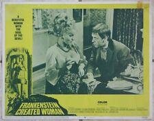 Movie Lobby Card, Frankenstein Created Woman (1967), Hammer Horror film, rr10329