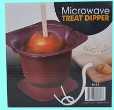 Microwave Treat Dipper - caramel apples, chocolate strawberrys
