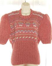 Ladies Jumper, Handknit To Vintage 1940's Pattern, size L