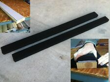 """BUNK GLIDES // SLIDES BLACK HDPE STRIP 3/"""" x 60/"""" 2 Boat Trailer // Marine"""