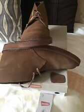 Clarks Suede Mens Desert Boot Size 7 Worn Once