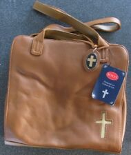 New Rolf's Christian Legacy Brown Leather Shoulder Bag