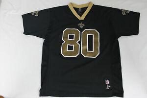 NFL Team Apparel Youth XL New Orleans Saints black jersey #80 Jimmy Graham