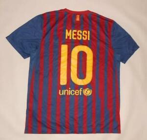 HOME SHIRT NIKE FC BARCELONA 2011-12 - MESSI #10 (L) Jersey Trikot Maillot