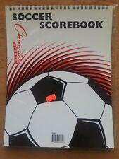 NIB NEW SOCCER SCOREBOOK - CHAMPION SPORTS #SCB1 #1151
