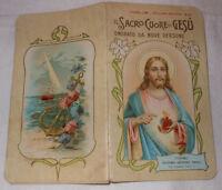 Il Sacro Cuore di Gesù onorato  Bonifetti G. Areodo ed. Torino 1912 (CB908) ^