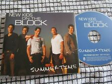 New Kids On The Block Summertime Interscope Records NKSUMCDP1 FPromo CD Single