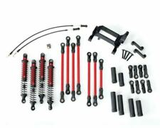 Traxxas TRA8140R TRX-4 Complete Long Arm Lift Kit Red