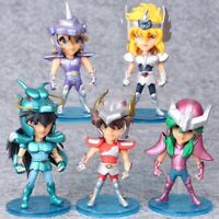 LOT DE 5 FIGURINES SAINT SEIYA 10 CM LES CHEVALIERS DU ZODIAQUE