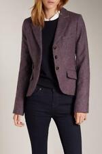 Jack Wills Austerberry Plum / Eggplant Tweed Blazer Size 8