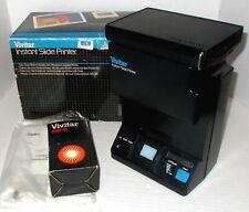 VIVITAR INSTANT SLIDE PRINTER w/ AC CORD mint in box POLAROID TRANSFER SYSTEM
