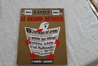 LES DOSSIERS DU CANARD ENCHAINE LE GRAND BETISIER 2002/2003