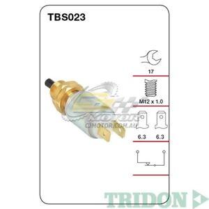 TRIDON STOP LIGHT SWITCH FOR BMW 528i 11/83-12/85 2.8L(M30B28)SOHC(Petrol)TBS023