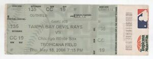 Chicago White Sox @ Tampa Bay 6/18/06 Box Office Ticket! Rays W 5-4