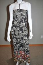 Vestiti da donna multicolore lunghezza lunghezza totale in cotone
