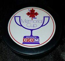 VINTAGE SUDBURY/ SAULT STE MARIE 1978 CAHA MEMORIAL CUP SPONSORED BY CCM PUCK
