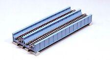 NEW KATO UNITRACK 20-455 DBLE TRK PLATE BRIDGE 186MM IN BLUE GREEN GREY OR BLACK