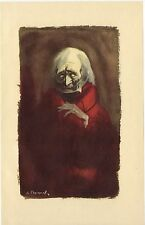 ILLUSTRATION de G. BARRET - Facino Cane - H. de Balzac - 1949.