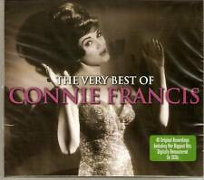 Connie Francis - The Very Best Of - Greatest Hits 2CD NEW/SEALED