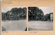 GUERRE WW1 - 3 Photos Armistice 1918 Paris Tas Armes Allemandes - Pl. 35