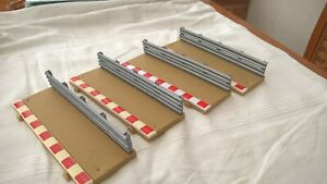 Scalextric 4 x BA Track Borders Armco Short Straights Very Good Used