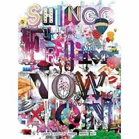 SHINEE-SHINEE THE BEST FROM NOW ON TYPE-B-JAPAN 2 CD+DVD+BOOK Ltd/Ed Japan