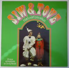 "Disney Record ""Har'u Vart På Cirkus"" Siw & Tove - MLP-15.449 - Mint (M)"