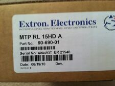 Extron MTP RL 15HD A Receiver 60-690-01 Twisted Pair Transmitter for VGA & Audio