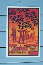 Cheap Trick Concert Tour Poster 1978 Capitol Theatre
