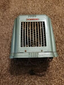 Vintage Arvin Heater #103 Art Deco Green Works Great In Excellent Condition