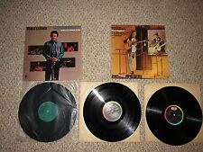 MERLE HAGGARD Record album VINYL Okie from Muskogee & Same Time Different Train