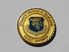 US Air Force Engineering Technical Services Combat Air Forces Challenge Coin