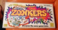 VINTAGE ZONKERS BOARD GAME CRAZY & UNPREDICTABLE COMPLETE WADDINGTONS 1979