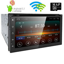 "7""2DIN Android 5.1 Car Stereo Quad Core 3G WIFI GPS Nav  DVD Player Auto Radio"