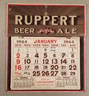 1944 RUPPERT BEER ALE Original Wall Calendar