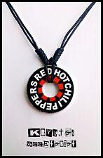 Collar Ajustable Unisex Red Hot Chili Peppers Colgante Rock Alternative