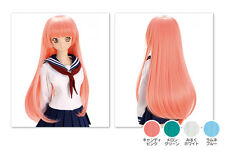 NEW Volks Akihabara Dollfie Dream Limited Wig / DDW-01D Long Straight (Pink)