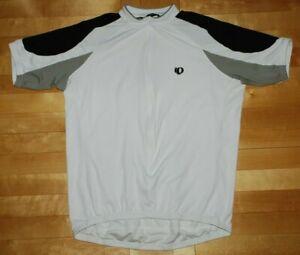 Pearl Izumi Ultrasensor Cycling Shirt Jersey Road Mtb Mountain Bike White Size L