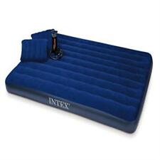 Intex Downy Queen Airbed Inflatable Camp Air Mattress