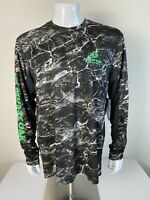 MOSSY OAK Mens Fishing Shirt Size Large Reg.$45