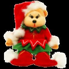 "Skansen Beanie Kids ""Chrissy"" The Christmas Bear Mwmt"