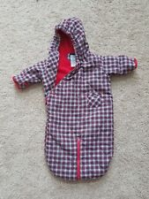 Tommy Hilfiger baby one-size plaid winter sack