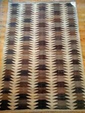 Rectangle Afghan Hand-Woven Rugs