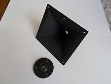 "INNOVA 1"" BOLT - ON OR SCREW - ON 7.5"" x 6.75"" HORN FLARE LENS FOR PA SPEAKER"